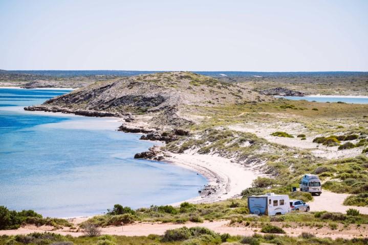 Whalebone Bay Shark Bay - Image: Tourism Western Australia