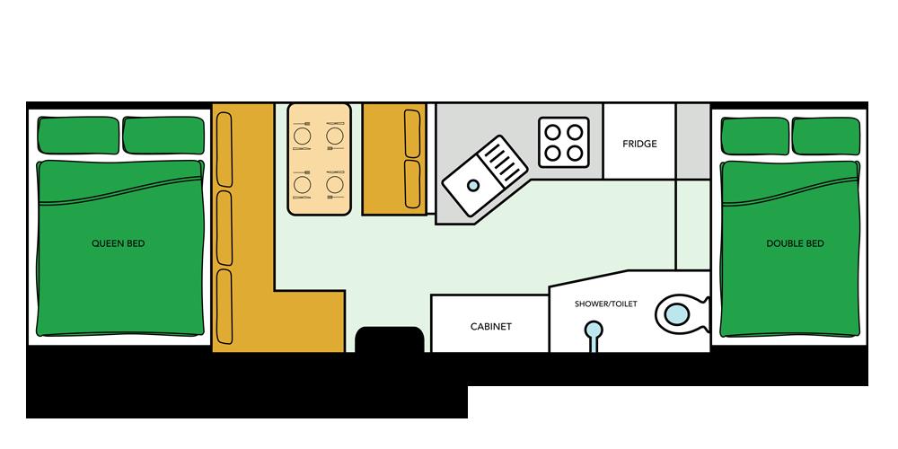 Goldstream Camper Floor Plan
