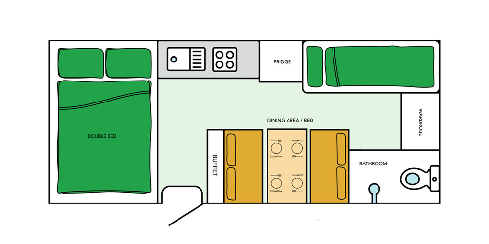 Jayco Journey Camper Floor Plan
